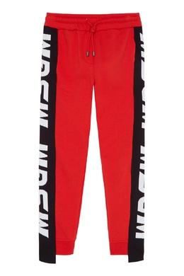 Красные брюки из хлопка MSGM 296181680