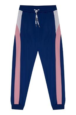 Спортивные брюки синего цвета MSGM 296181592
