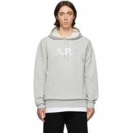 A.P.C. Grey Carhartt WIP Edition Stash Hoodie COECO-H27598