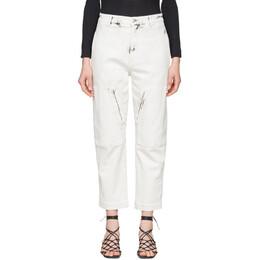 Stella McCartney White Acid Wash Galaxy Jeans 600673SNH78