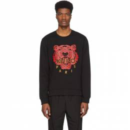 Kenzo Black Limited Edition Chinese New Year Classic Tiger Sweatshirt FA55SW1264Z5.99