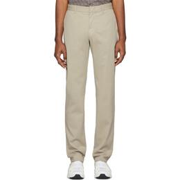 Z Zegna Beige Slim Fit Trousers VU148 ZZ360