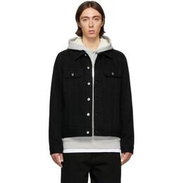 A.P.C. Black Denim Benjamin Jacket CODEZ-H02399