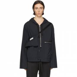 Maison Margiela Black Recycled Nylon Sports Jacket S50AM0444 S49986