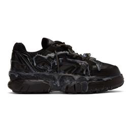 Maison Margiela Black Fusion Low Sneakers S57WS0257 P1878