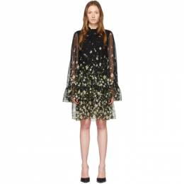 Erdem Black Silk Concetta Dress PS20_21322DDV