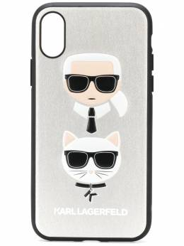 Karl Lagerfeld чехол Ikonik Karl для iPhone X/Xs KL19CSSI290