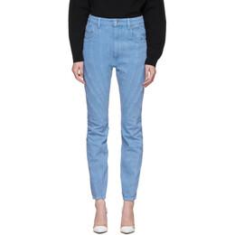 Mugler Blue Twist Jeans 20R6PA0283242