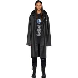 Vetements Black STAR WARS Edition Character List Raincoat USW21JA026