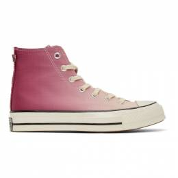 Converse Purple and Pink PrimaLoft Chuck 70 High Sneakers 168111C
