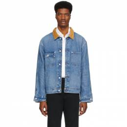 Polo Ralph Lauren Blue Denim Dungaree Jacket 710776239001