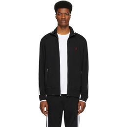 Polo Ralph Lauren Black Interlock Track Jacket 710743326002