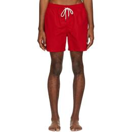 Polo Ralph Lauren Red Traveler Swim Shorts 710659017009
