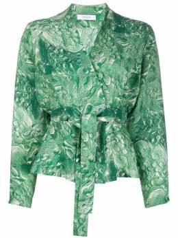 Roseanna блузка Gemma с абстрактным принтом RS20MINEGEMMA