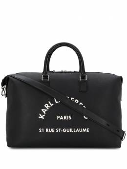 Karl Lagerfeld сумка-тоут Weekender с логотипом 201W3072999