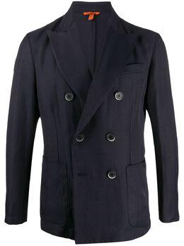 Barena двубортный пиджак узкого кроя GIU26094097BV170