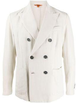 Barena двубортный пиджак узкого кроя GIU26094097BV220