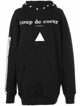 Coup De Coeur толстовка с капюшоном с логотипом PEARLLONGHOODY