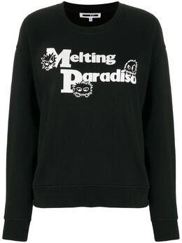 MCQ by Alexander McQueen джемпер Melting Paradise с длинными рукавами 577664ROJ63