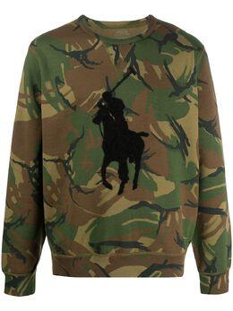 Polo Ralph Lauren толстовка Big Pony Camouflage 710795602