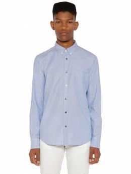Рубашка Окфорд Из Хлопка Moncler 71IX00011-NzMx0