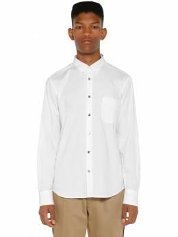 Рубашка Окфорд Из Хлопка Moncler 71IX00011-MDAx0