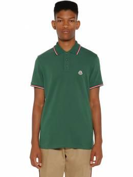Рубашка Поло Из Хлопка Пике Moncler 71IX00014-ODY10