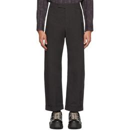 Craig Green Black Uniform Trousers CGSS20CWOTRS01