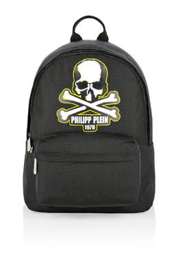 Черный рюкзак с принтом в виде черепа Philipp Plein 1795182397
