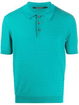 Tagliatore рубашка-поло с узором GSE2005PETE540