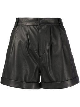 Federica Tosi облегающие шорты с завышенной талией FTE20SH039OVPELLE0002