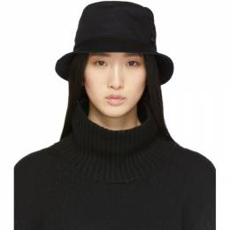 Maison Michel Black Jason Bucket Hat 2072022004