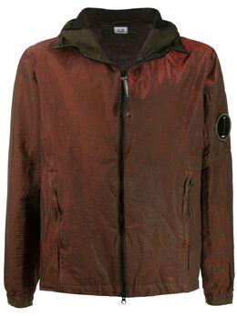 C.P. Company легкая куртка с переливчатым эффектом 08CMOW106A005686G
