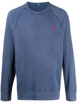 Polo Ralph Lauren флисовая толстовка с рукавами реглан 710644952017