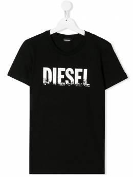 Diesel Kids футболка с логотипом 00J4SU00YI9