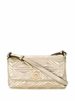 Emporio Armani стеганая сумка из искусственной кожи Y3C033YFQ6X