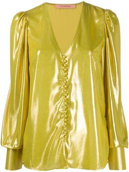 Andamane блузка Cecilia с эффектом металлик CECILIA