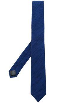 Z Zegna галстук с вышивкой Z7Z381SV