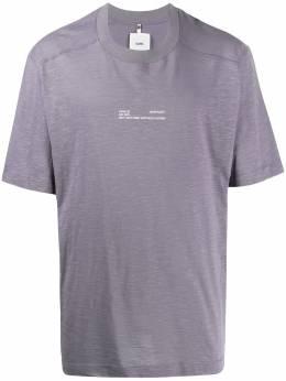 Oamc футболка оверсайз с надписью 706266244008A