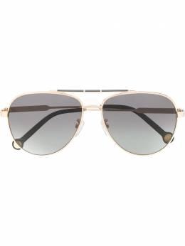 Ch Carolina Herrera солнцезащитные очки-авиаторы 150 SHE150