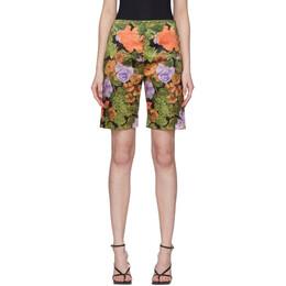 Richard Quinn Multicolor Floral Shorts 90