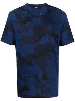 Zadig & Voltaire футболка с камуфляжным принтом SJTP1807H