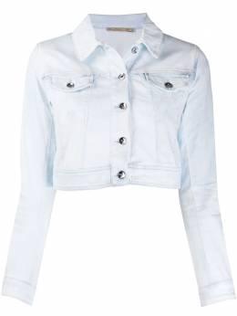 Patrizia Pepe укороченная джинсовая куртка 8J0923A6E6