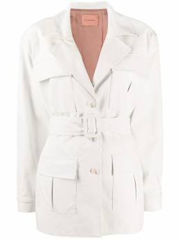 Andamane куртка Cher из искусственной кожи с бахромой Q02J020FR
