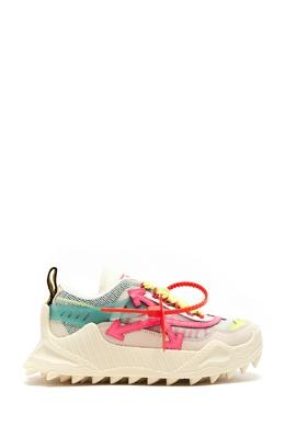 Комбинированные кроссовки Odsy-1000 Off-White 2202182797