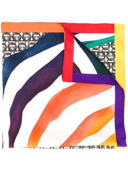 Salvatore Ferragamo шарф с монограммой 726133