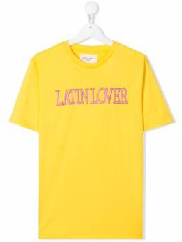 Alberta Ferretti Kids футболка Latin Lover 022146