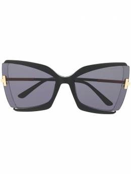 Tom Ford Eyewear солнцезащитные очки-бабочки Gia FT0766