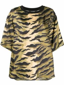 Dsquared2 футболка с зебровым принтом S72NC0890S52758