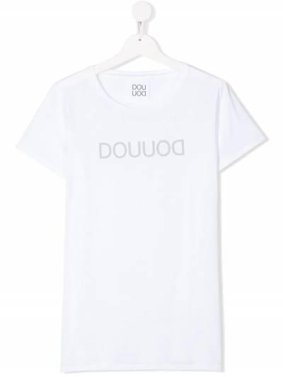 Douuod Kids футболка с логотипом TE571228 - 1